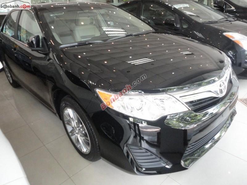 Bán Toyota Camry LE đời 2014, màu đen, xe nhập khẩu mới 100%