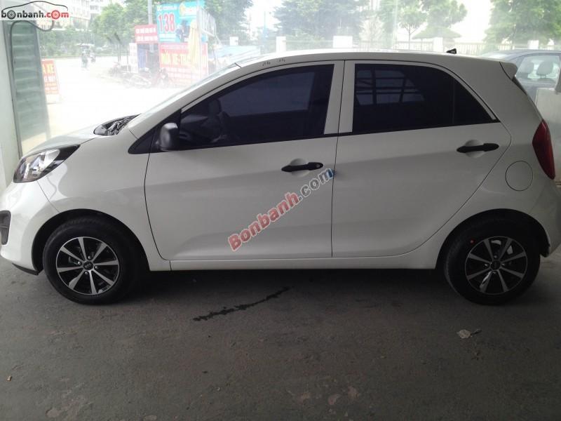 Cần bán xe Kia Morning đời 2011, màu trắng, nhập khẩu, giá 268Tr