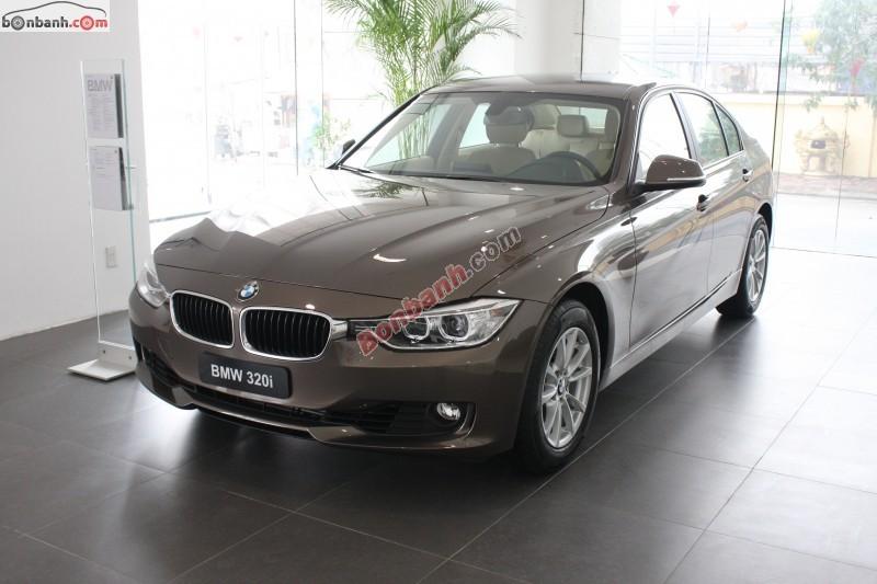Cần bán BMW 3 Series 320i năm 2015, màu nâu, nhập khẩu nguyên chiếc