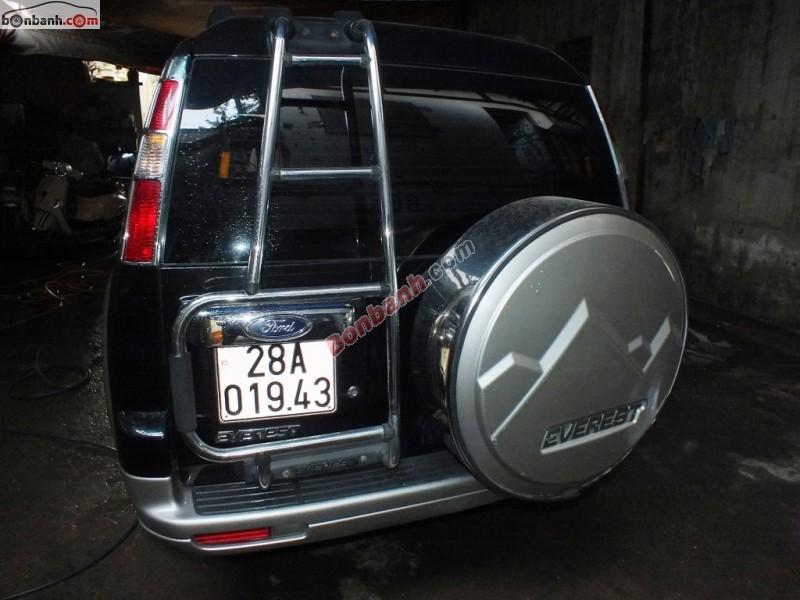 Bán ô tô Ford Everest đời 2008, màu đen chính chủ