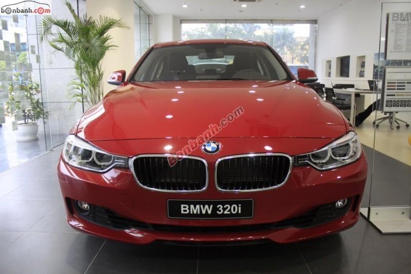 Bán ô tô BMW 3 Series 320i đời 2015, màu đỏ, nhập khẩu