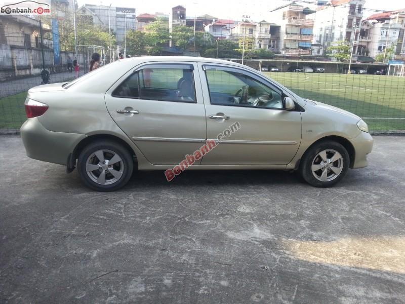Cần bán gấp Toyota Vios 1.5 MT 2005, xe đẹp