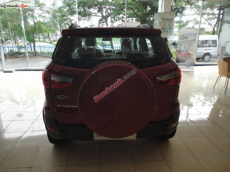 Bán Ford EcoSport Titanium 1.5L AT đời 2015, màu đỏ, giá chỉ 681 triệu