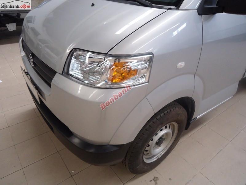 Bán Suzuki Carry Pro đời 2015, màu bạc, nhập khẩu