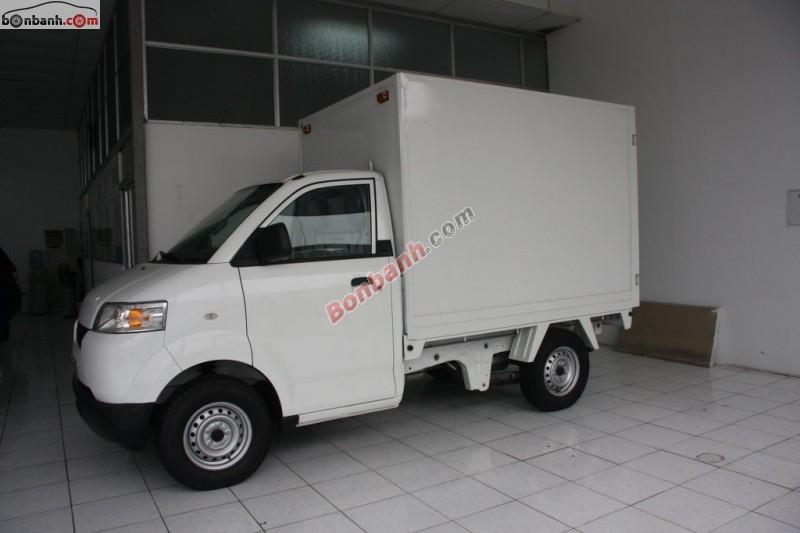 Bán Suzuki Carry Pro đời 2015, màu trắng, xe nhập