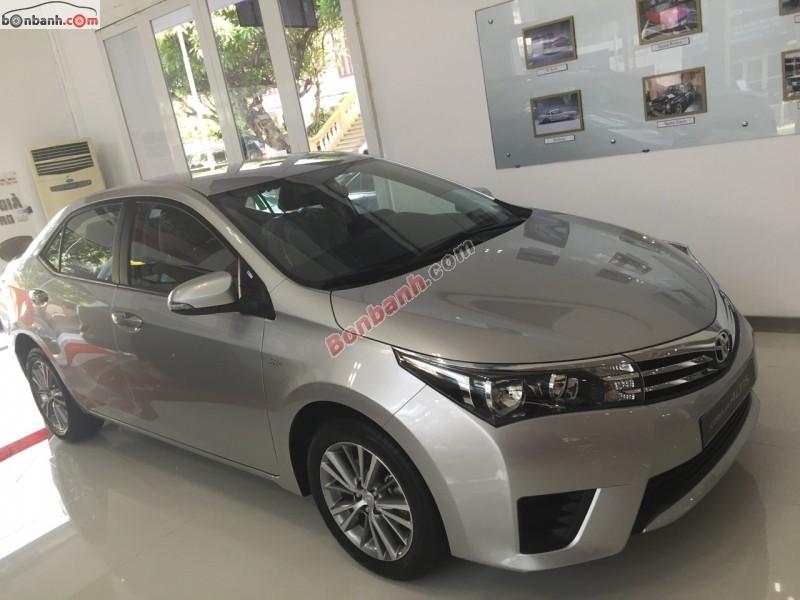 Bán ô tô Toyota Corolla altis 1.8G MT đời 2015, hỗ trợ vay lên đến 80% giá trị xe