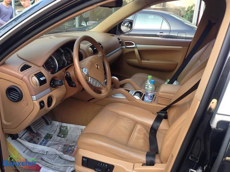 Bán ô tô Porsche Cayenne S đời 2007, màu đen, xe nhập
