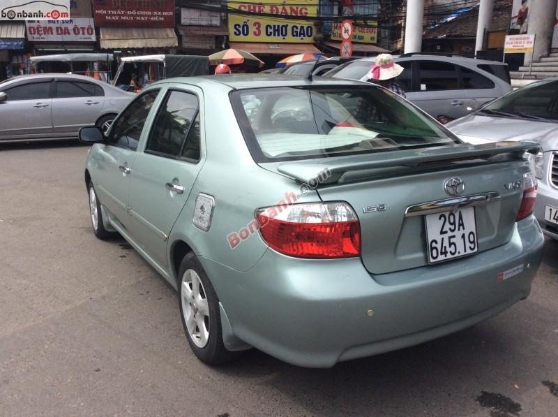Bán xe Toyota Vios G đời 2003, giá chỉ 350 triệu, đẹp như mới