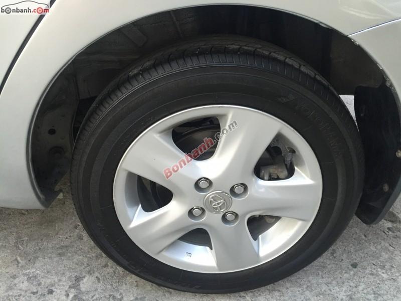 Xe Toyota Vios G đời 2009, màu bạc, xe gia đình, xe đẹp
