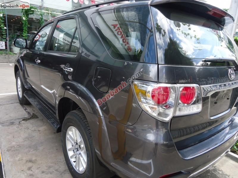 Bán xe Toyota Fortuner V đời 2015, màu xám, giá chỉ 954 triệu