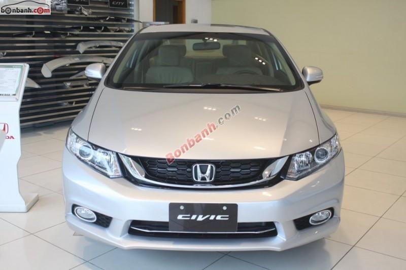 Cần bán Honda Civic 1.8AT đời 2015, màu bạc tại Honda Ô tô Tây Hồ