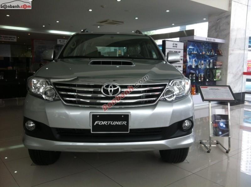 Toyota Hoàn Kiếm bán xe Toyota Fortuner G đời 2015