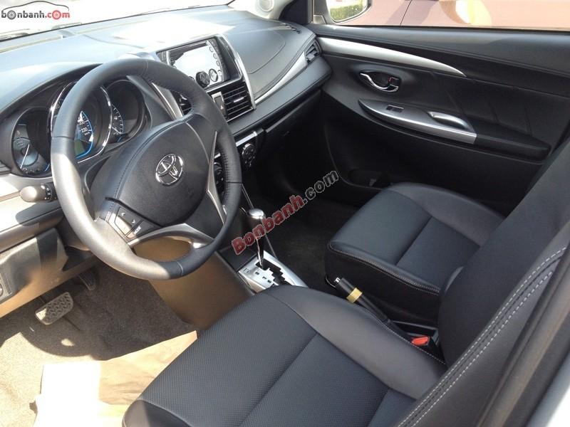 Bán Toyota Vios G đời 2015, màu bạc, giá 624Tr