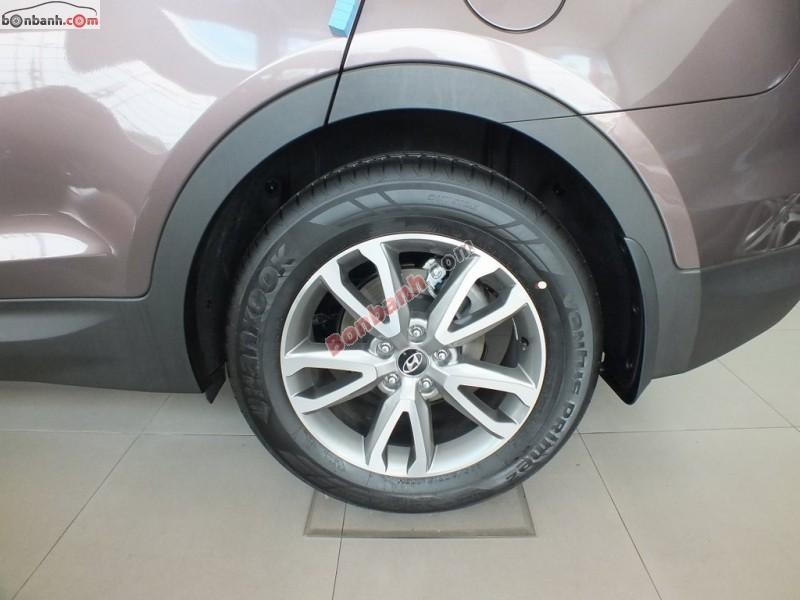 Bán ô tô Hyundai Santa Fe CRDI đời 2015, màu xám