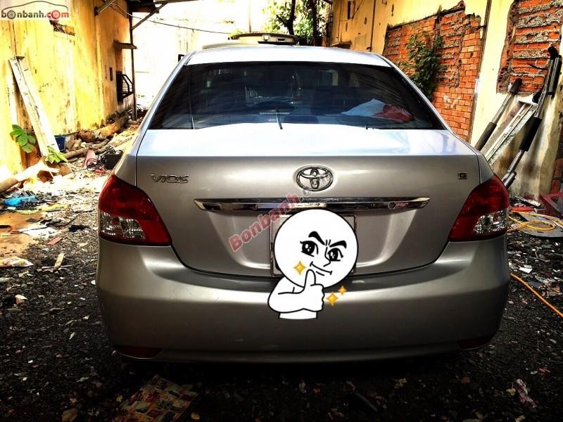 Bán xe Toyota Vios G năm 2008, màu bạc số tự động, giá chỉ 480 triệu