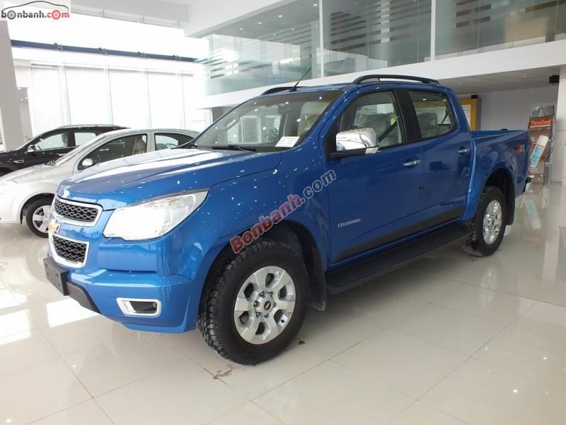 Cần bán Chevrolet Colorado 2.8 đời 2015, màu xanh lam, xe nhập, giá tốt gọi ngay 0985 657 765