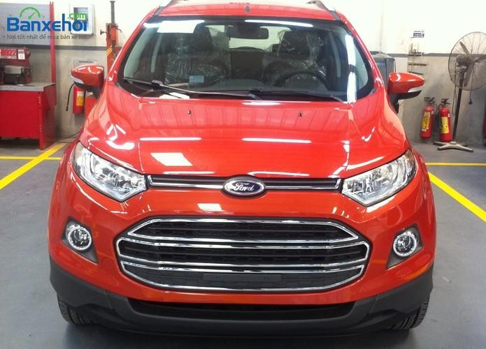 Cần bán xe Ford EcoSport Titanium model 2017, màu đỏ, hỗ trợ trả góp