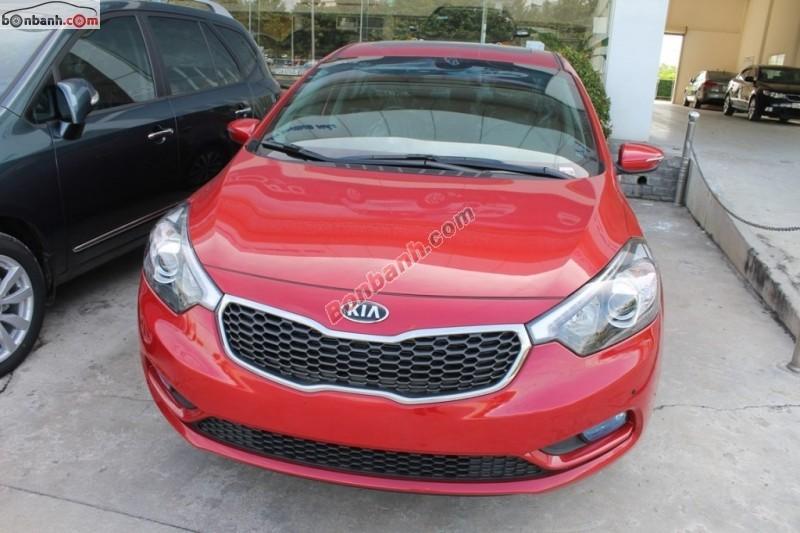 Cần bán xe Kia K3 2.0 AT đời 2015, màu đỏ