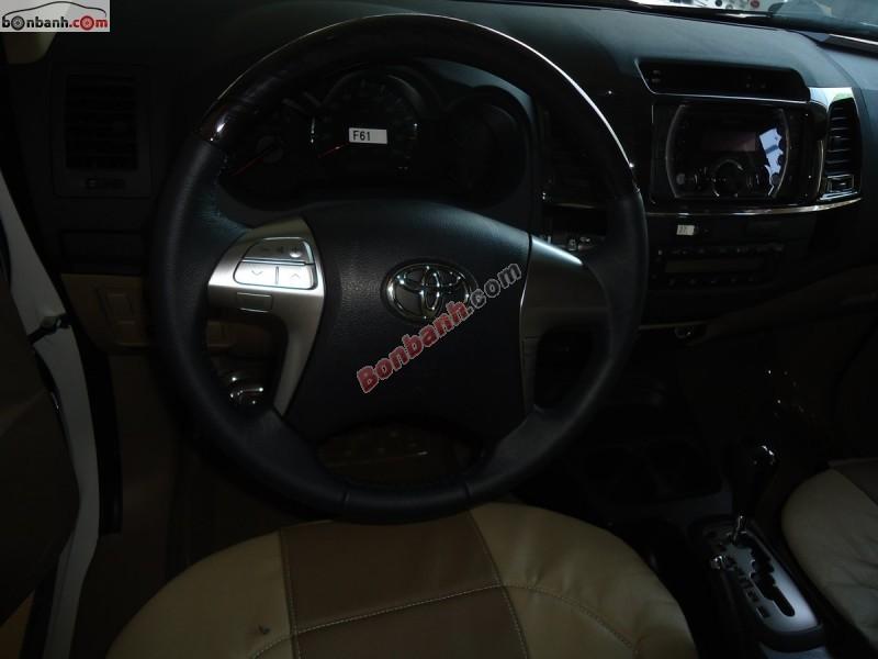 Bán Toyota Fortuner TRD Sportivo 4x2AT sản xuất 2015, màu trắng