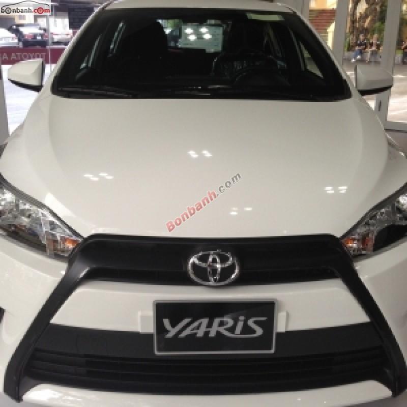 Bán xe Toyota Yaris G đời 2015, màu trắng, nhập khẩu nguyên chiếc