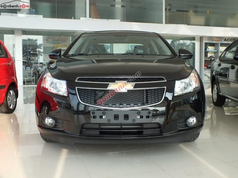 Bán xe Chevrolet Cruze LS đời 2015, màu đen - Hỗ trợ làm trả góp với thủ tục cực kỳ đơn giản