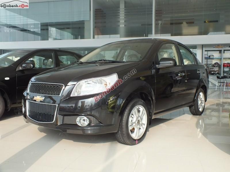 Bán ô tô Chevrolet Aveo LTZ đời 2015, màu đen, thiết kế ngoại thất thể thao