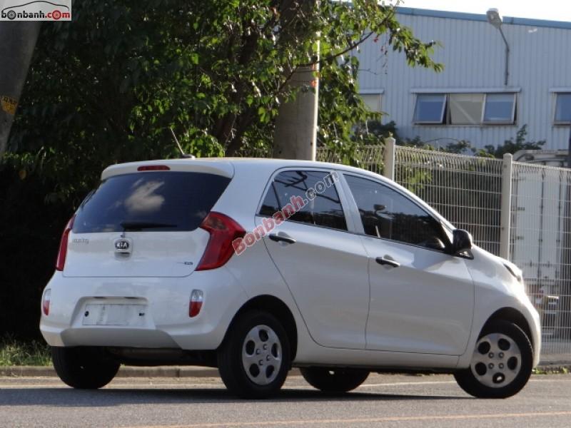 Cần bán xe Kia Morning Van đời 2014, màu trắng, nhập khẩu, giá 322Tr