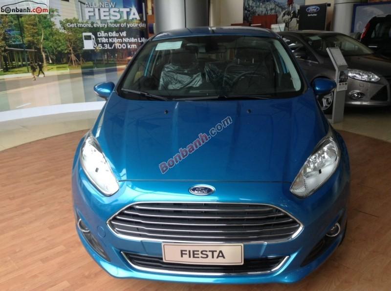 Bán xe Ford Fiesta 1.5L AT Sport đời 2015, màu xanh lam, giá bán 574 triệu