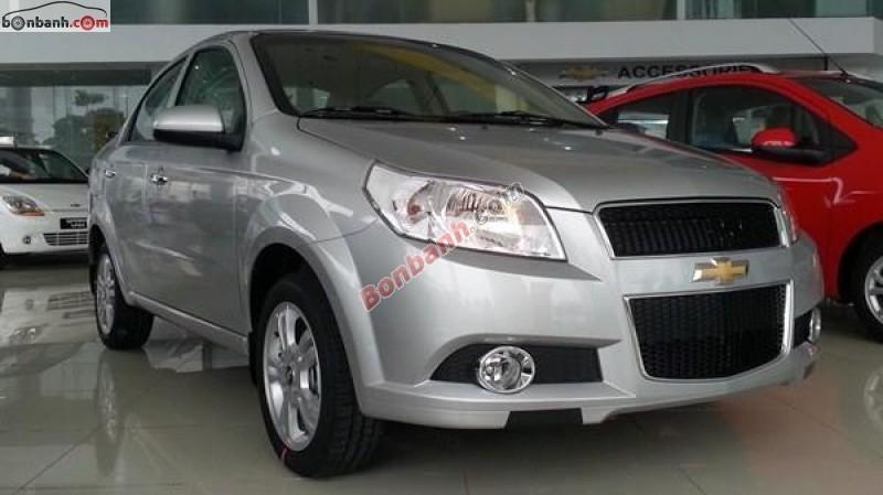 Cần bán Chevrolet Aveo LTZ năm 2016, màu bạc, giá tốt