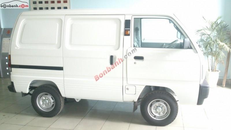 Bán ô tô Suzuki Carry Bilnd Van đời 2015, màu trắng