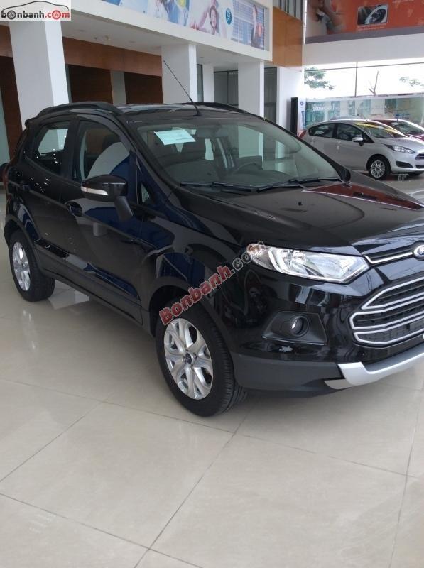 Bán ô tô Ford EcoSport 1.5 AT đời 2015, màu đen