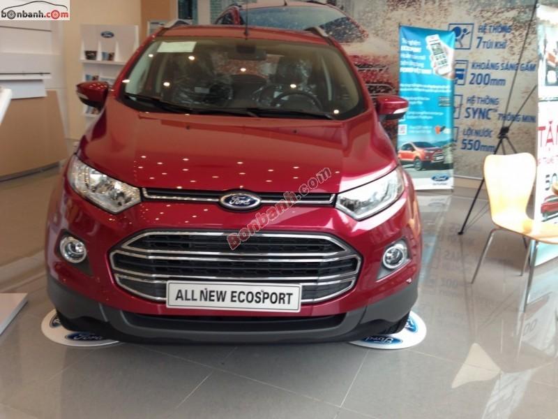 Bán ô tô Ford EcoSport 1.5L Titanium sản xuất 2015, màu đỏ