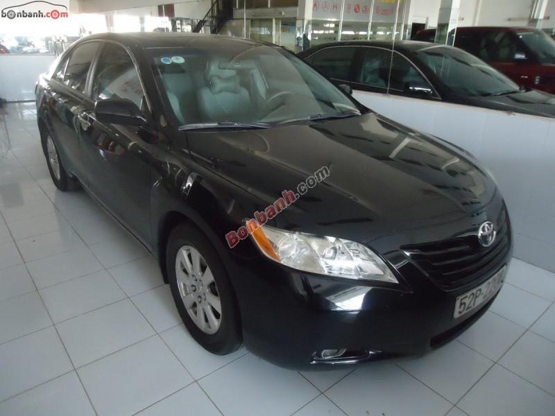 Cần bán lại xe Toyota Camry LE 2.4 2008, màu đen, nhập khẩu