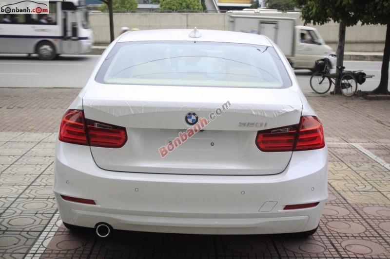 Bán BMW 3 Series 320i sản xuất 2015, màu trắng, nhập khẩu nguyên chiếc