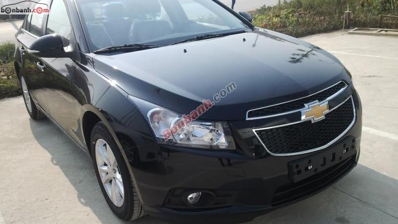 Bán ô tô Chevrolet Cruze LS đời 2015, màu đen, giá tốt tại Chevrolet Hà Nội