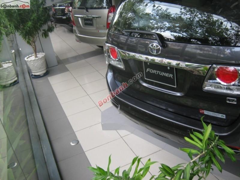 Bán ô tô Toyota Fortuner 2.7V 4x2AT đời 2015, màu xám, giá 955Tr