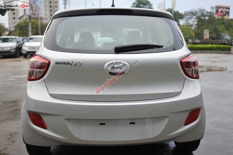 Bán Hyundai i10 MT 2015, màu bạc, nhập khẩu chính hãng