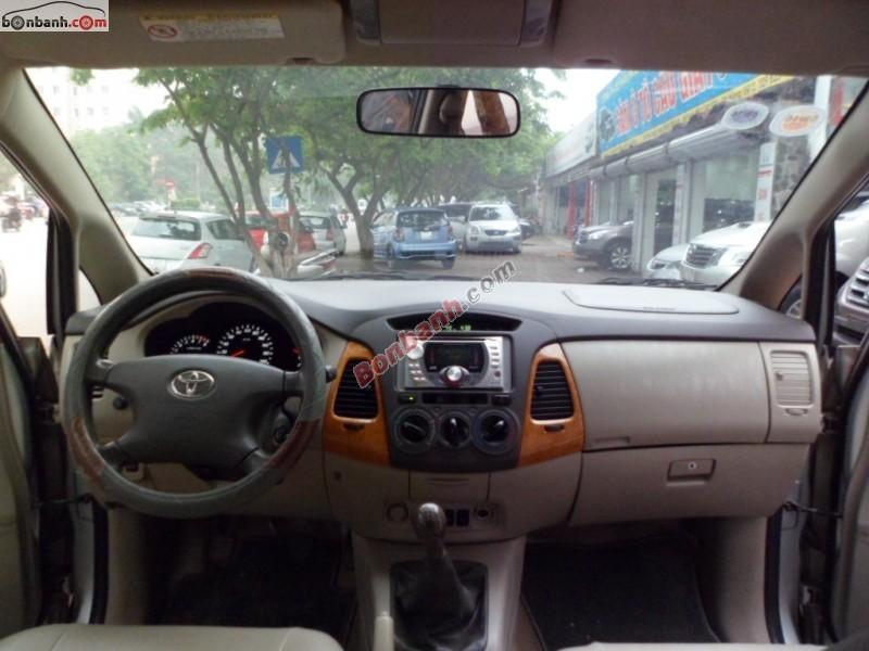 Salon ô tô Kiên Cường bán ô tô Toyota Innova G sản xuất 2010, màu bạc, giá chỉ 615 triệu