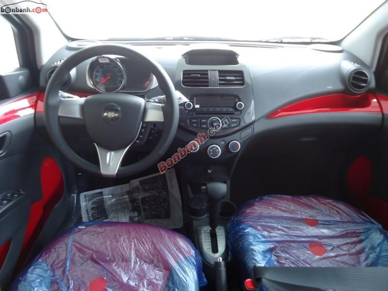 Bán Chevrolet Spark Zest AT năm 2015, màu đỏ, 392 triệu