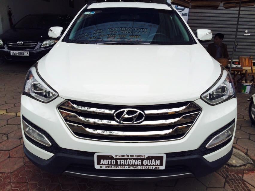 Mình cần bán Hyundai Santa Fe CRDI máy dầu nhập khẩu nguyên chiếc tại Hàn Quốc