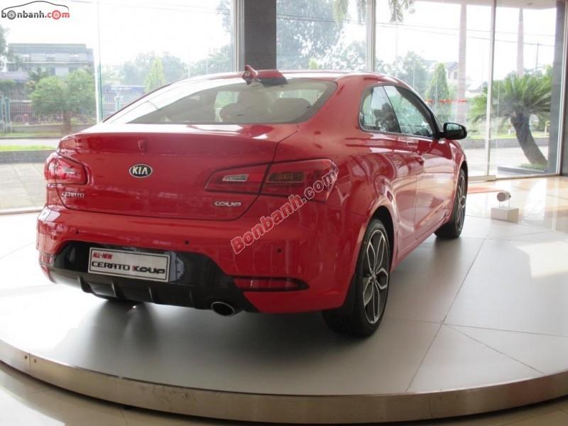 Cần bán Kia Cerato Koup 2.0 AT đời 2015, màu đỏ, nhập khẩu nguyên chiếc, giá 825Tr