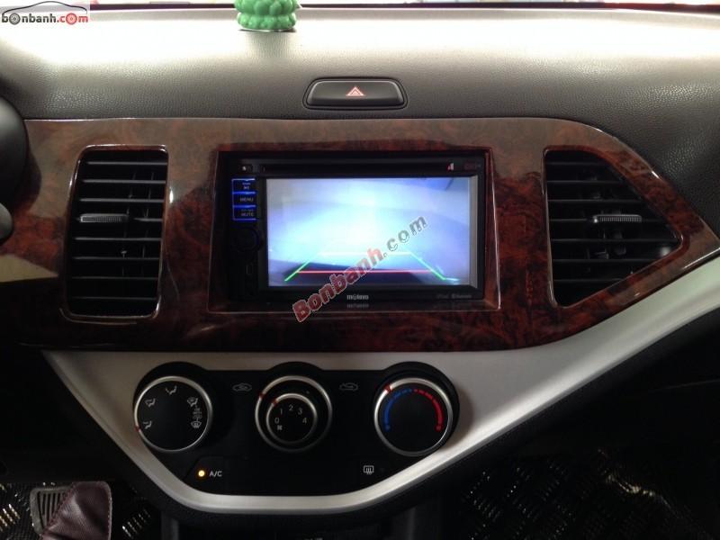 Bán xe Kia Morning AT đời 2011, màu bạc, nhập khẩu chính hãng số tự động, giá 399Tr