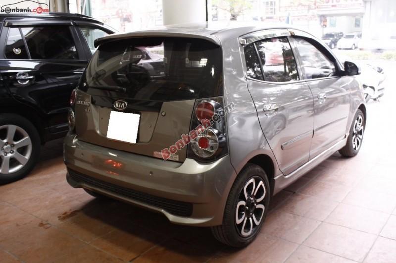 Bán xe Kia Morning SLX đời 2010, màu xám, nhập khẩu số tự động