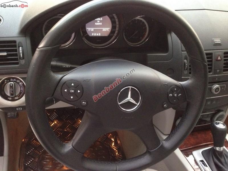 Bán Mercedes C250 sản xuất 2010, màu xám, xe đi 46,000km