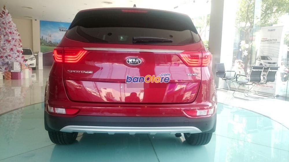 Cần bán xe Kia Sportage đời 2015, màu đỏ, nhập khẩu