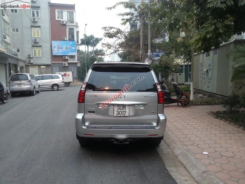 Việt Tín Auto cần bán Lexus GX 470 đời 2007, màu bạc, xe nhập