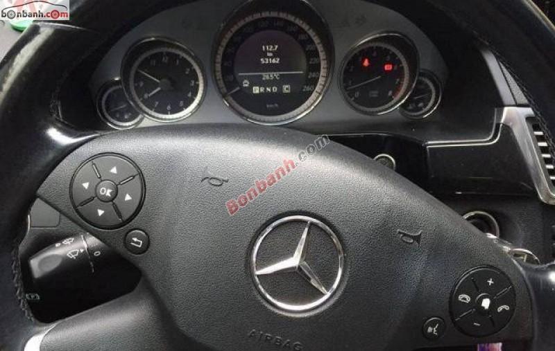 Bán Mercedes E250 đời 2009, màu đen còn mới