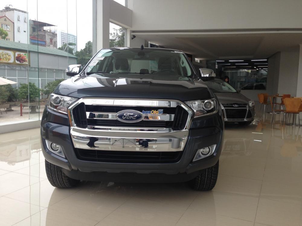 Bán Ford Ranger đời 2015, màu xám, nhập khẩu chính hãng