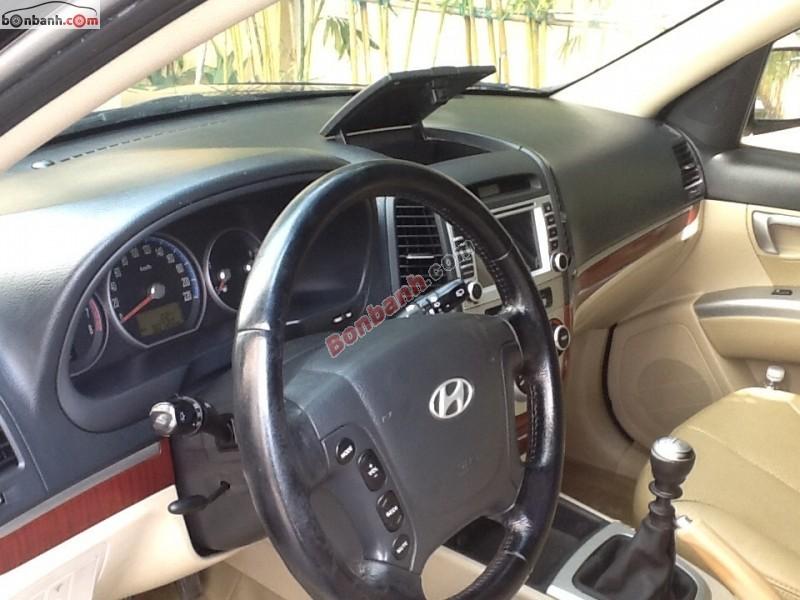 Bán ô tô Hyundai Santa Fe đời 2008, màu đen, xe nhập còn mới, 580 triệu