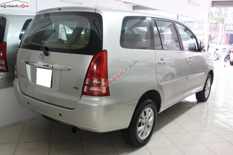 Cần bán lại xe Toyota Innova G đời 2007, giá chỉ 505 triệu